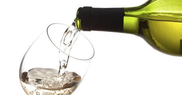 botella de vino seco