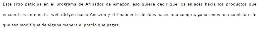 Amazon información